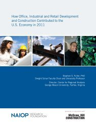 How Office, Industrial and Retail Development and ... - EPRA