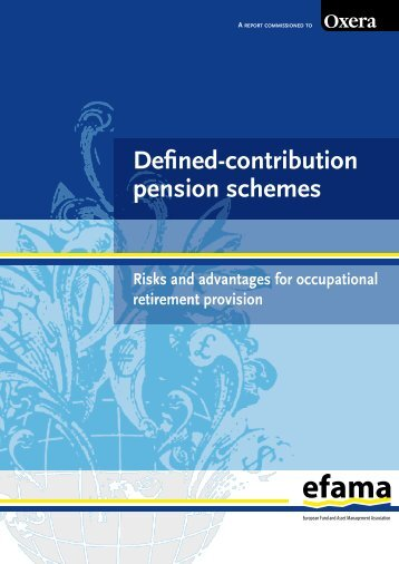 Defined-Contribution Pension Schemes: Risks and - Efama