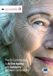 The EU Contribution to Active Ageing and Solidarity between ...