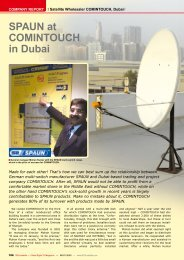 SPAUN at COMINTOUCH in Dubai