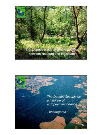 Thomas Schneider (City of Ingolstadt): Danube Restoration project