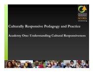Cultural Responsiveness - NIUSI Leadscape