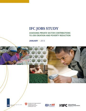 IFC Job Study – Assessing Private Sector Contributions to Job ...