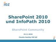 Was ist InfoPath? - IOZ AG