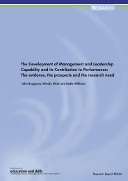 The Development of Management and Leadership Capability and its ...