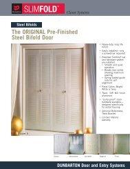 SF - Steel Bifold Specs - SF111 - 1208:bifoldspec.qxd.qxd