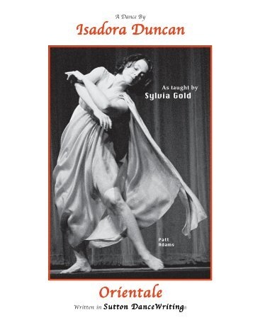 Orientale by Isadora Duncan - Dance Writing