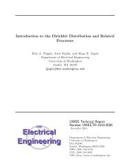 Introduction to the Dirichlet Distribution - Electrical Engineering ...