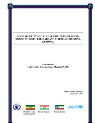 food security and vulnerability in selected towns of somali ... - alnap