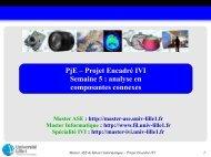 analyse en composantes connexes - Master IVI