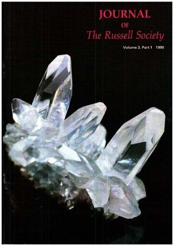 to download volume 3 issue 1 - Mindat