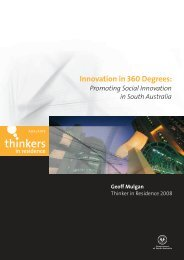 Innovation in 360 Degrees: - Adelaide Thinkers in Residence - SA ...