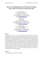 Network Technologies and Local Networks - LSE Department of ...