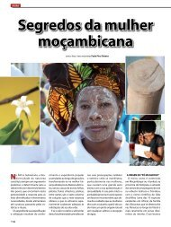 Segredos da mulher moçambicana - LAM