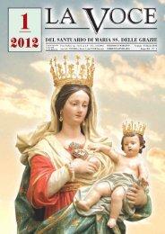 2012 DEL SANTUARIO DI MARIA SS. DELLE GRAZIE