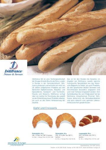 Gipfel und Croissants - Steinkeller & hunger