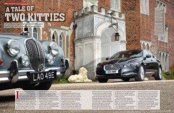 Self-confessed Jaguar fancier, Clive White, goes back to the future ...