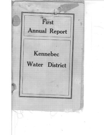 click here - Kennebec Water District