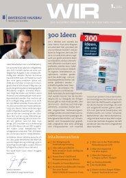 WIR Ausgabe 1 - 2012