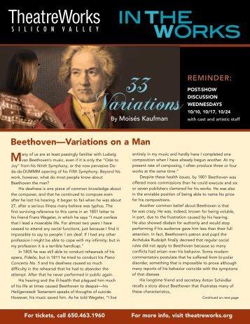 33 Variations - TheatreWorks