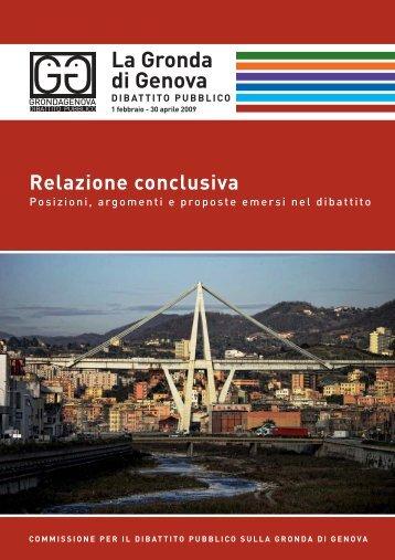 La Gronda di Genova - Urban Center - Comune di Genova