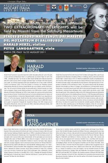 peter langgartner harald herzl - associazione mozart italia sede di terni