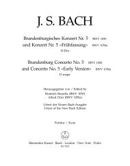 J. S. BACH - Clarius Audi