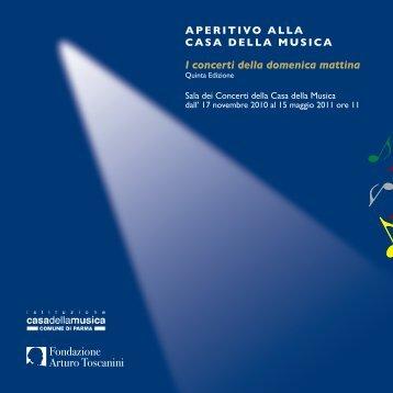 I concerti della domenica mattina - Parma - Casa della Musica