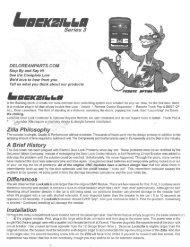 Lockzilla Series 3 Install Instructions - DMC-News The DeLorean ...