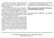 DeLorean Owners Handbook P/N 113090 - DMC-News & The DML