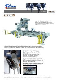 MOVE FIVE AXIS SERIE - CNC Kunststoff