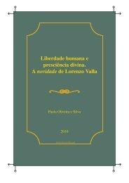 Liberdade humana e presciência divina. A novidade de Lorenzo Valla
