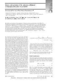 Kinetics and mechanism of the aminolysis of S-phenyl ...