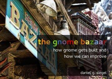 the gnome bazaar - daniel g. siegel