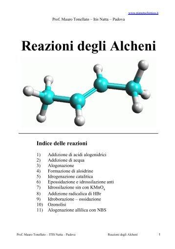 Reazioni degli Alcheni - PianetaChimica