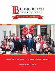 Annual Community Newsletter 2013 - Long Beach City College