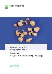 Harnsteine: Diagnostik - Behandlung - Vorsorge