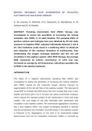 PESFtherapy .pdf - ScienceTech