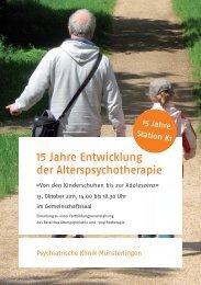 PDT 15 Jahre K1_Flyer.indd - Spital Thurgau AG