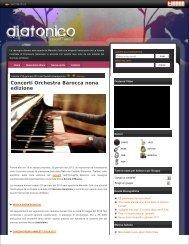 Concerti Orchestra Barocca nona edizione - Fondazione Milano