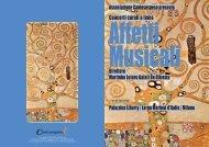 Concerti corali a tema - Associazione Cantosospeso