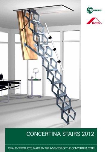 CONCERTINA STAIRS 2010 - Columbus Treppen GmbH