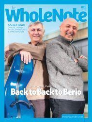 PDF version - The Wholenote Magazine