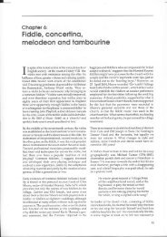 melodeon ond tombourine - Musical Traditions