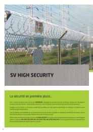 sv high security - Superveda