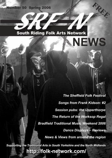 Newsletter #50 - South Riding Folk Arts Network
