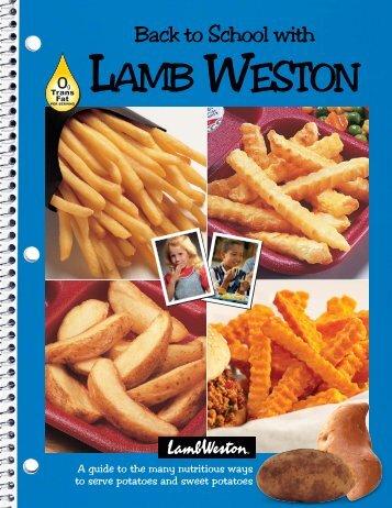 Back To School With AMB ESTON - Lamb Weston