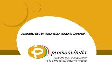 quaderno del turismo della regione campania - Promuovi Italia