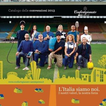 Catalogo convenzioni 2013 - Confartigianato