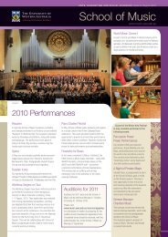 Newsletter - The University of Western Australia